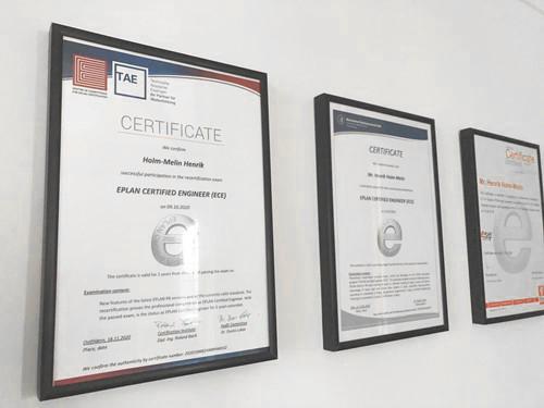 Eplan Certificering